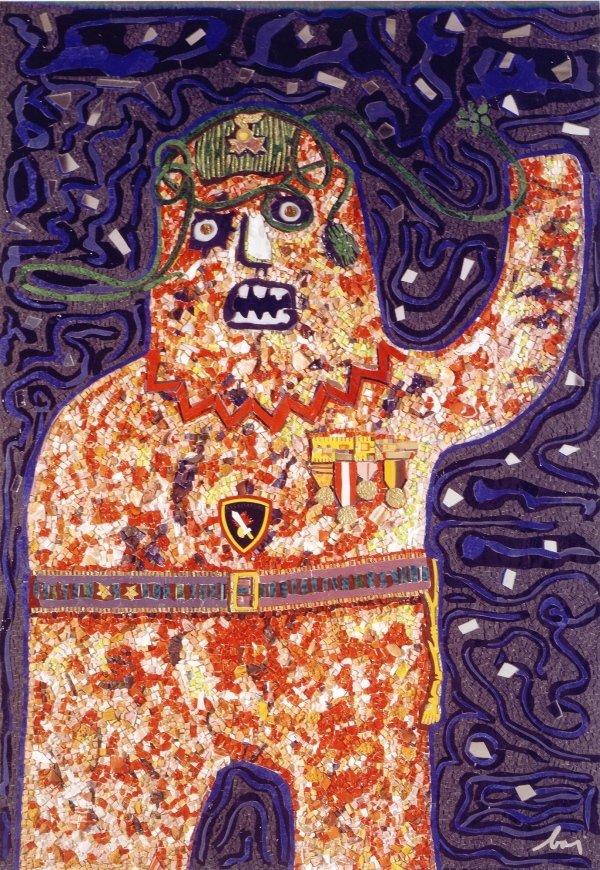 Mosaici Enrico Baj
