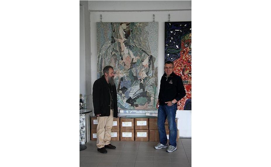 Samuel Gabai mosaic