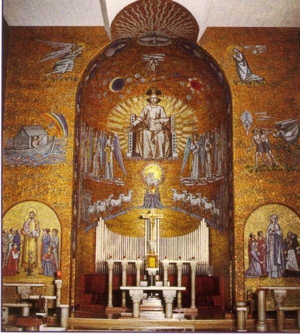 CHURCH IN TACCONA (MI) ARTIST LONGARETTI