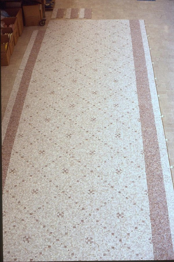 PRIVATE HOUSE Mosaic by Architect Fiorenzo CATTANEO
