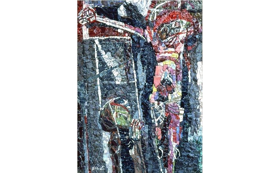 Marcello Avenali Mosaic 125 x 90 x 2.5 cm