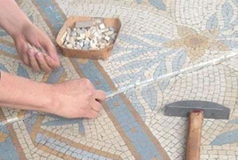 Restauro mosaici