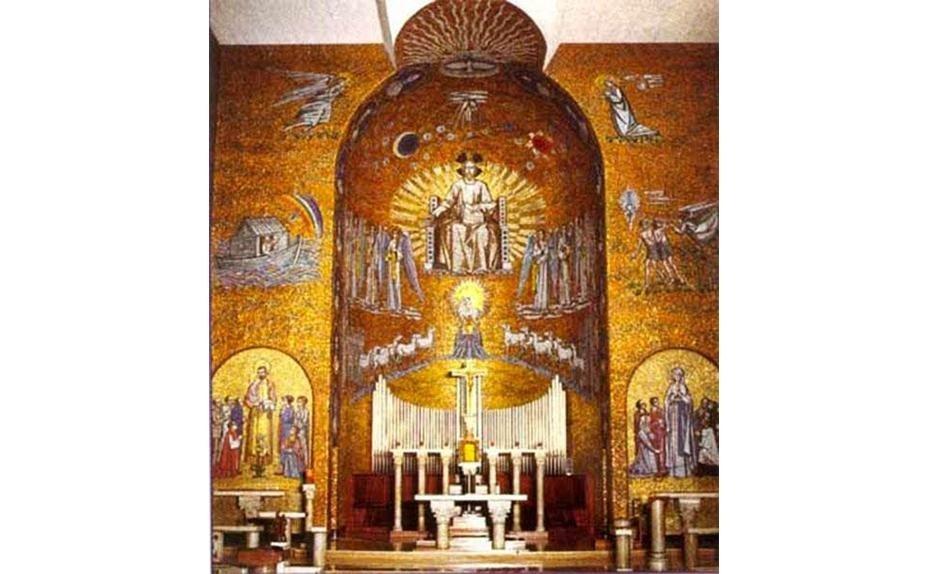 Trento Longaretti - Church in Taccona di Muggiò (Mi)