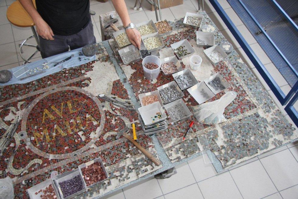 Restauro edicola votiva Saronno