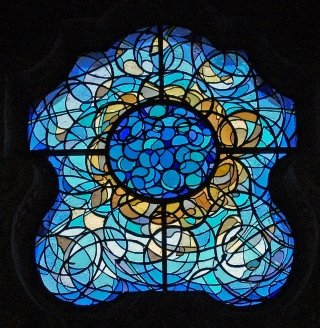 Stained glass window Artist Ambrogio Fumagalli