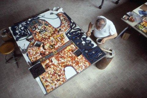 restauratore di mosaici