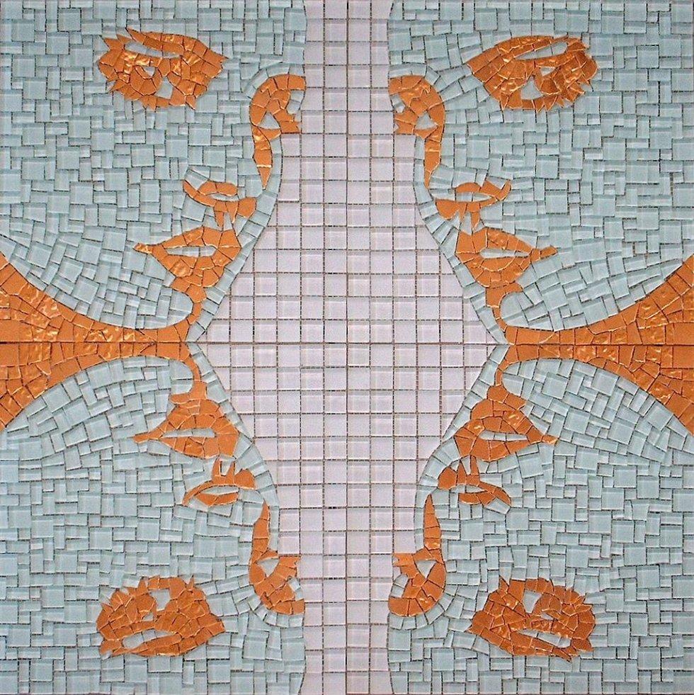 Decorazioni mosaici