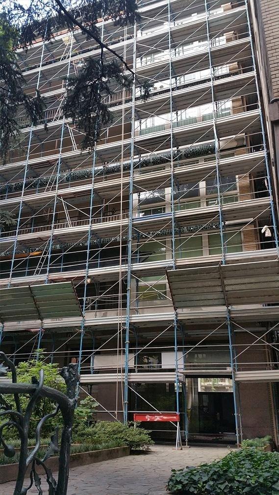 Restauro condominio via Saffi