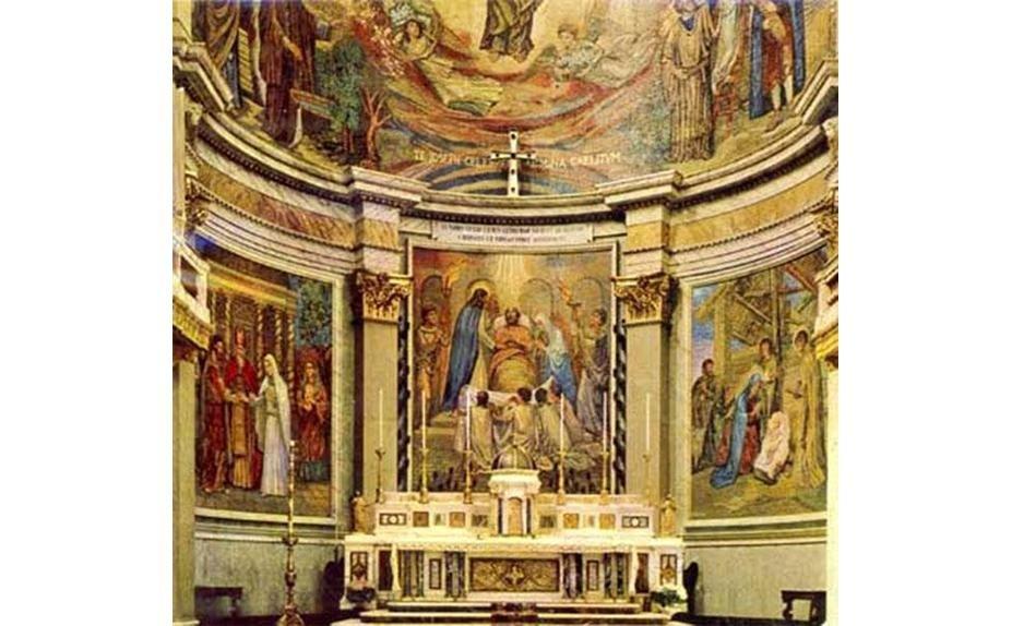 Pio and Silvio Eroli - Church in Rome