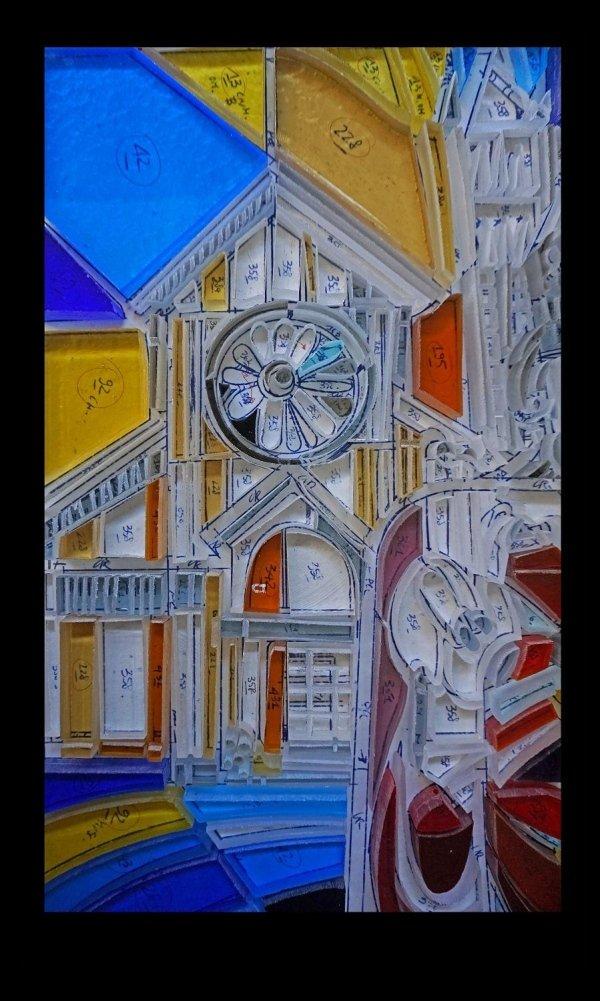 Artista Gabriele Di Maulo Vetrata S. Zeno