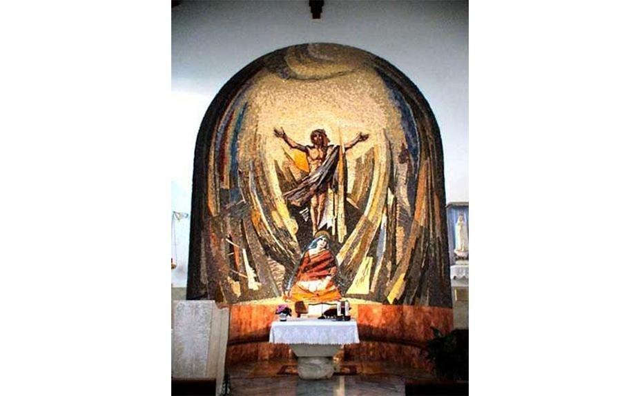 Father Ambrogio Fumagalli - Church in Lunghezza, Rome