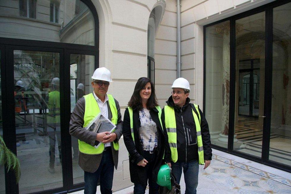 Cinzia Pasquali - Restauro Mosaico Hotel Peninsula Parigi