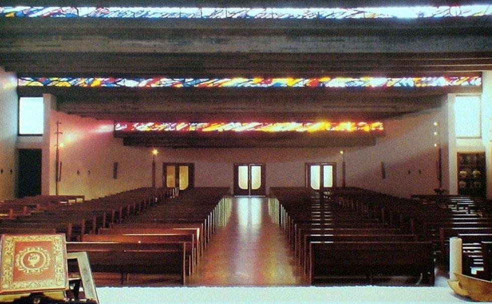 S. Antonino Ticino - Vetrate cappella