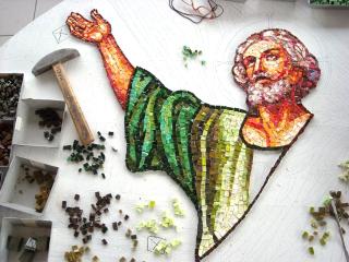 mosaici a tema religioso
