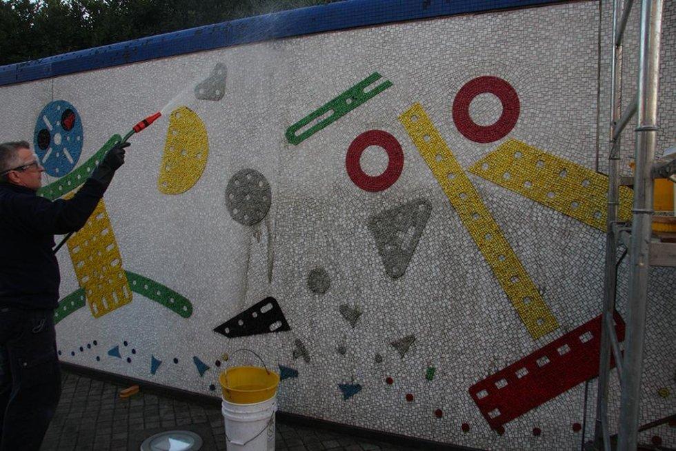 Restauro Muro Baj Pontedera