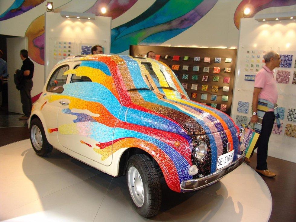 Fiat 500 Artist Dario Brevi