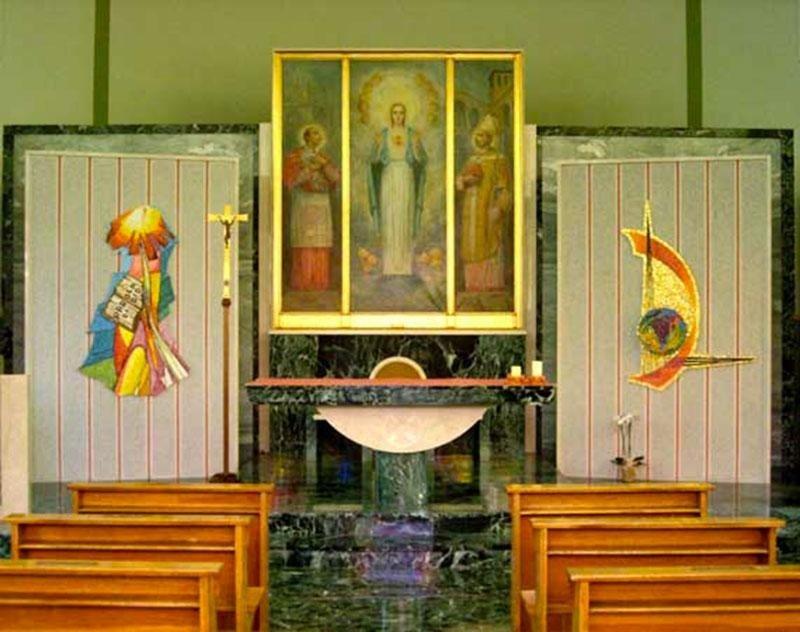 Father Francesco Radaelli - Altar of the Church in Agliate Brianza (Mi)