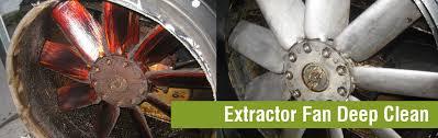 Extractor fan deep clean
