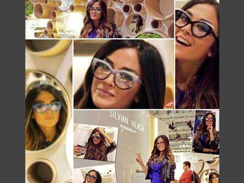 esposizione occhiali di marca