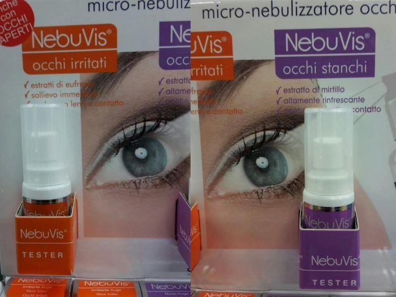 nebulizzatori per occhi