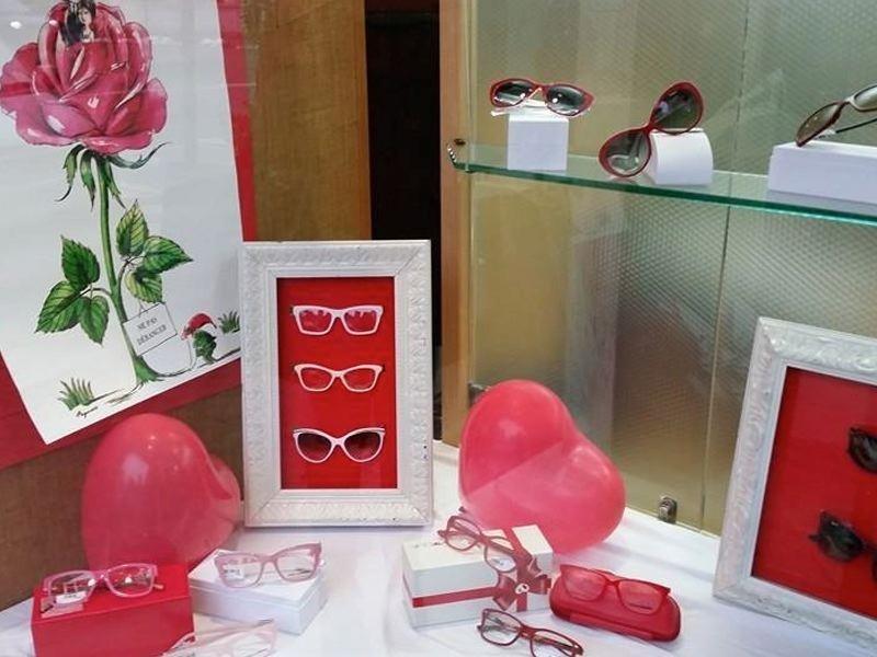 occhiali montature glamour