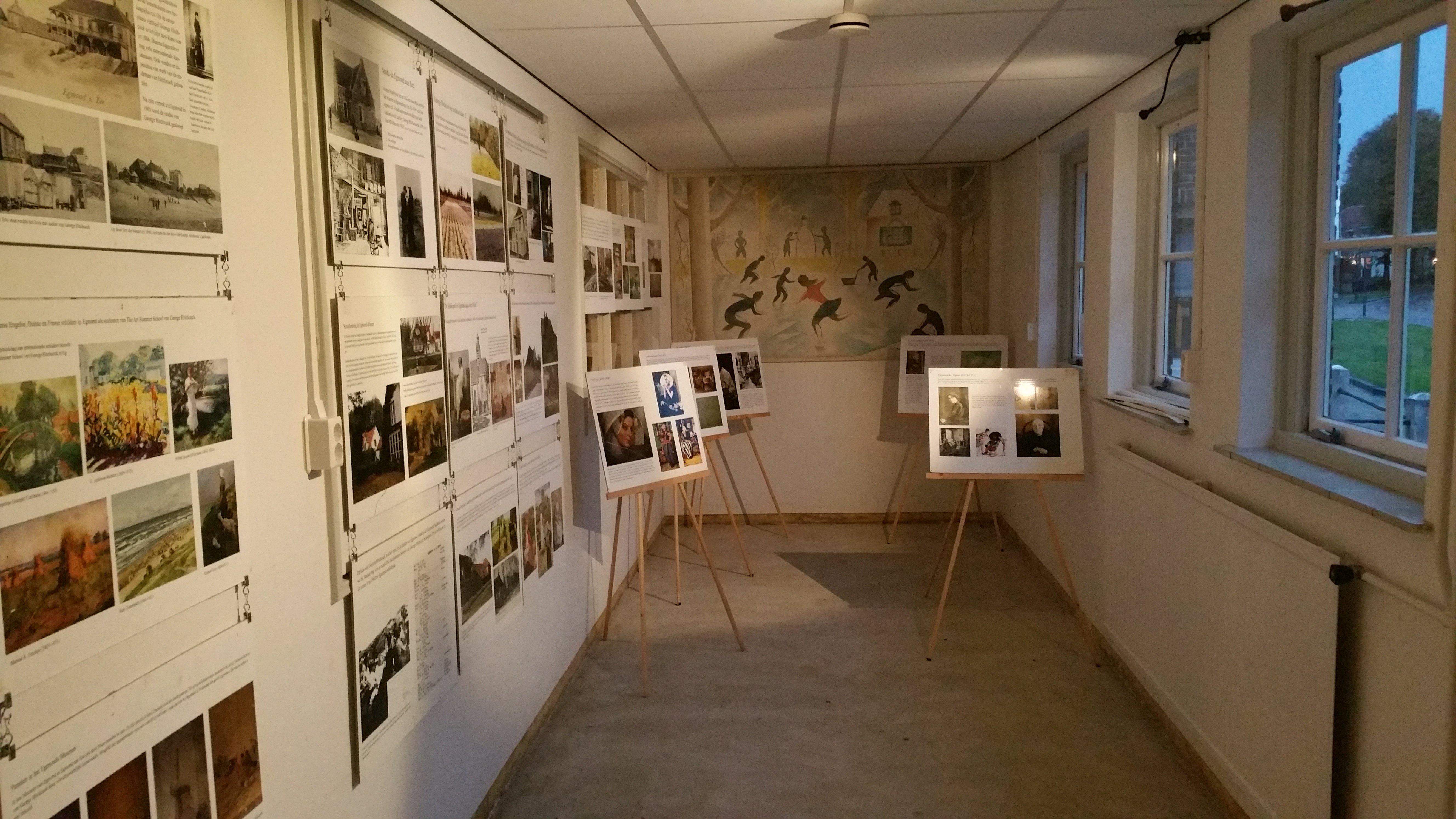 Etalage-expositie ook 's avonds te bezichtigen