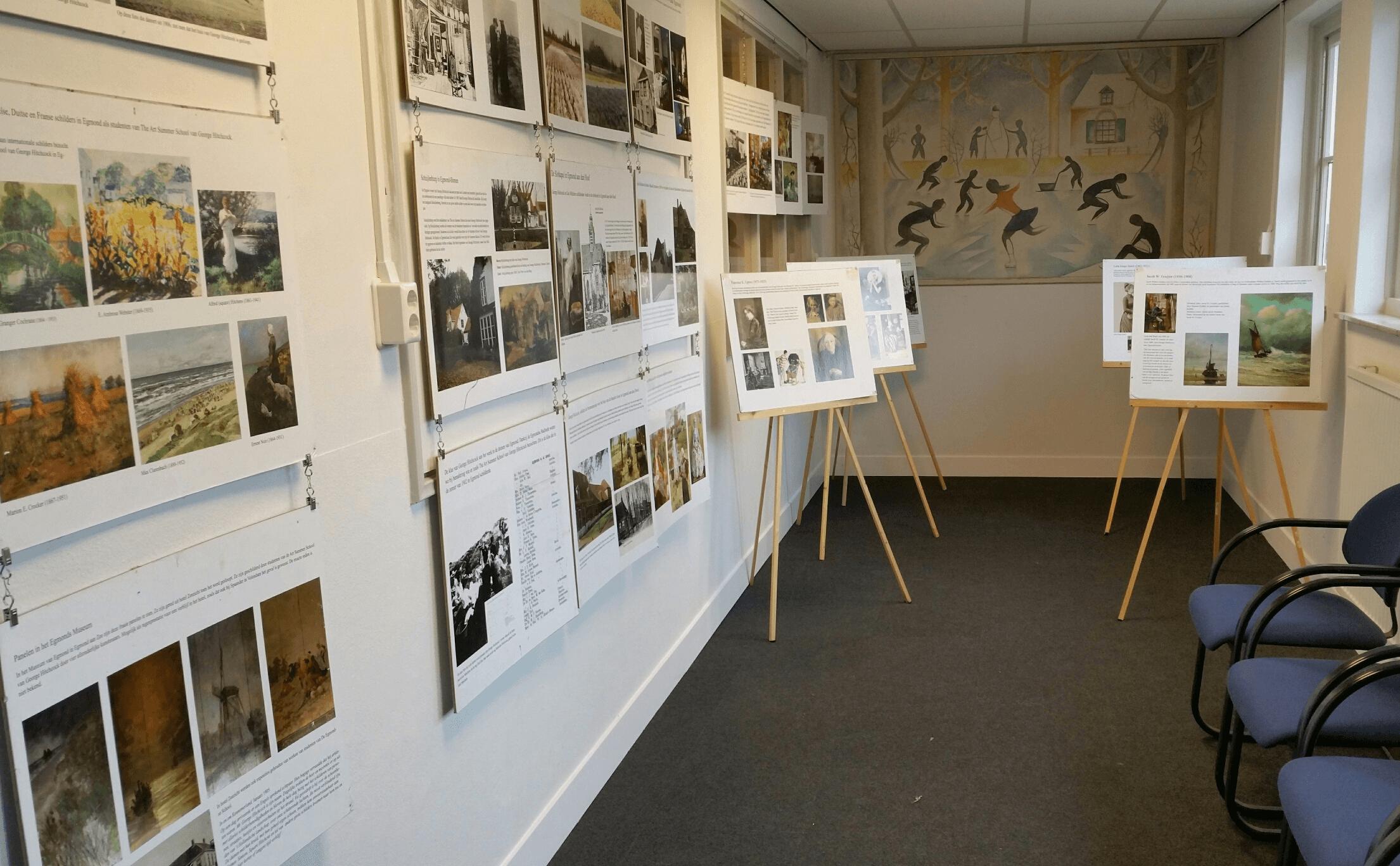Etalage-expositie
