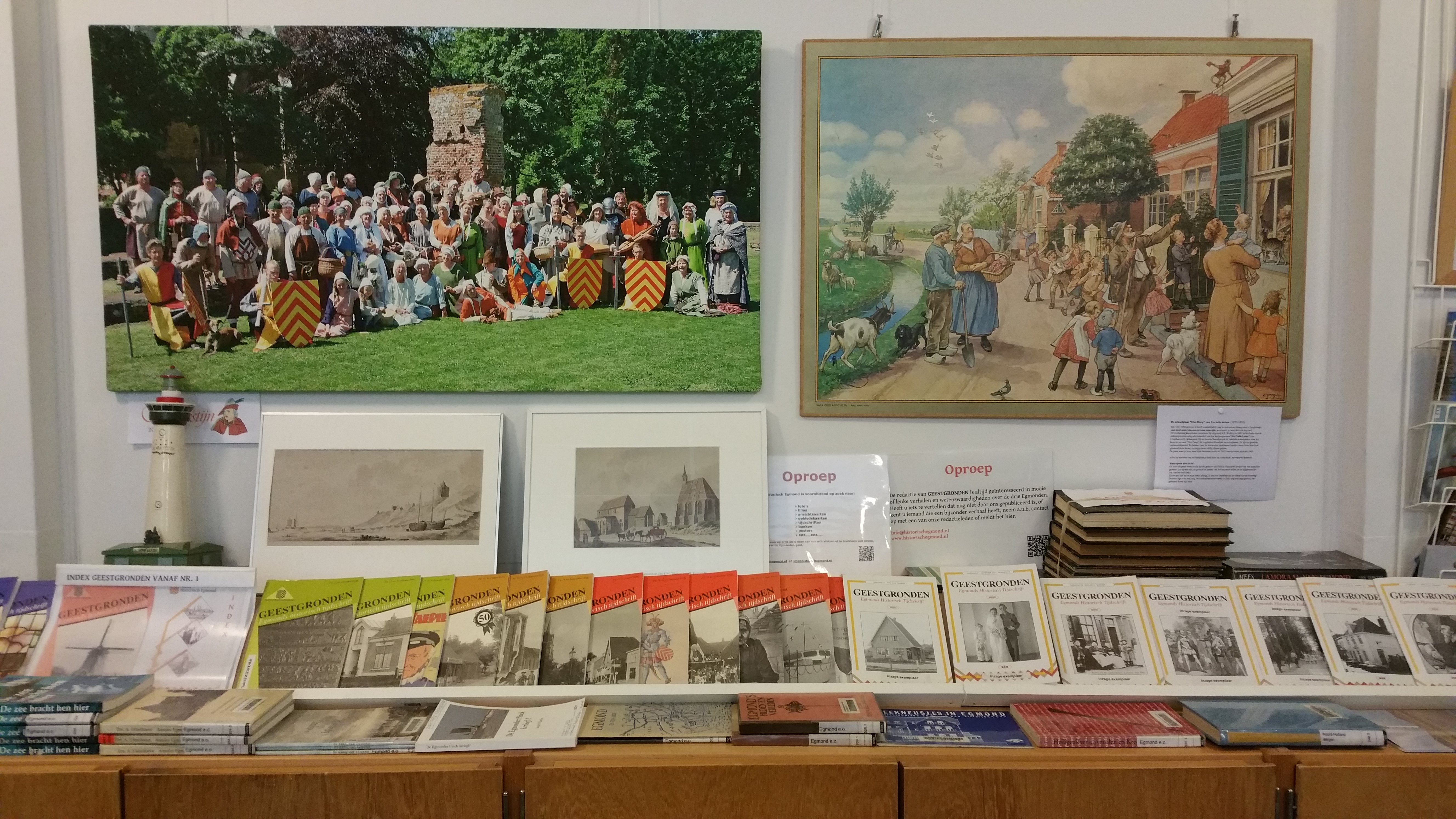 Bibiliotheek en exposities