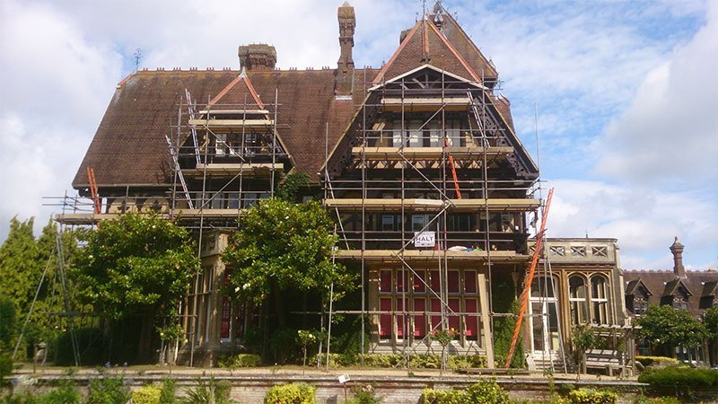residential scaffolding work