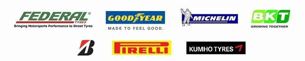 FEDERAL PIRELLI MICHELIN logos