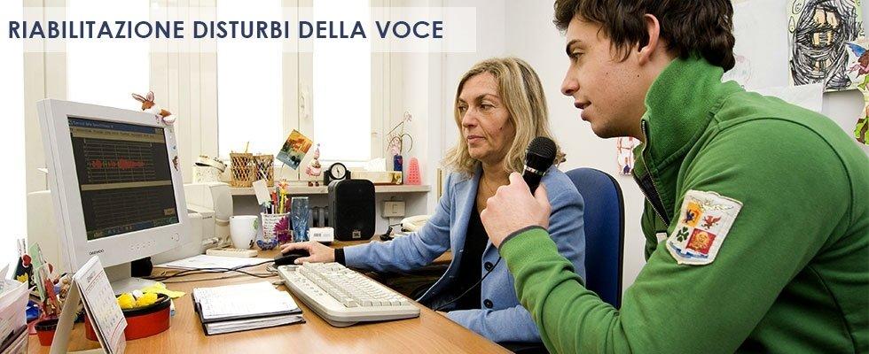 riabilitazione disturbi della voce roma