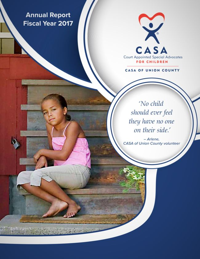 CASA of Union County FY 2017 Annual Report