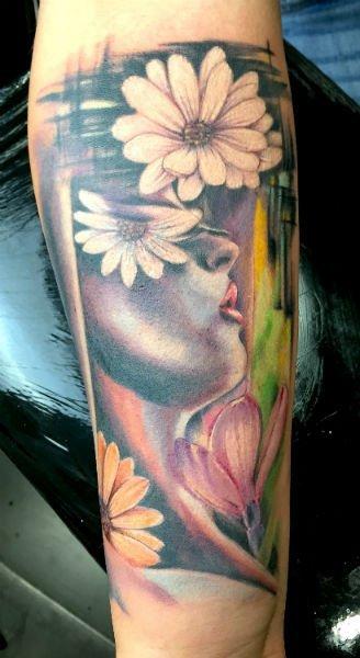 tattoo di fiori