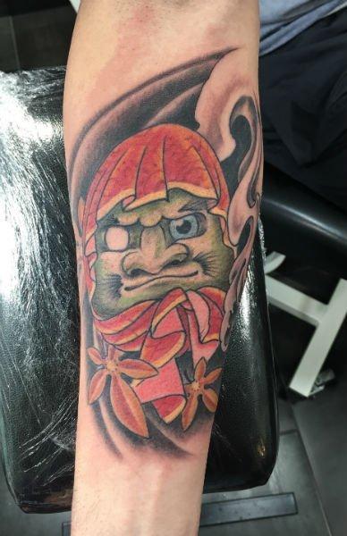 tattoo di uno gnomo