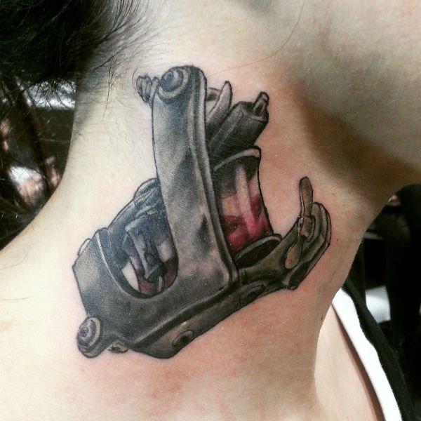 tatto black and white