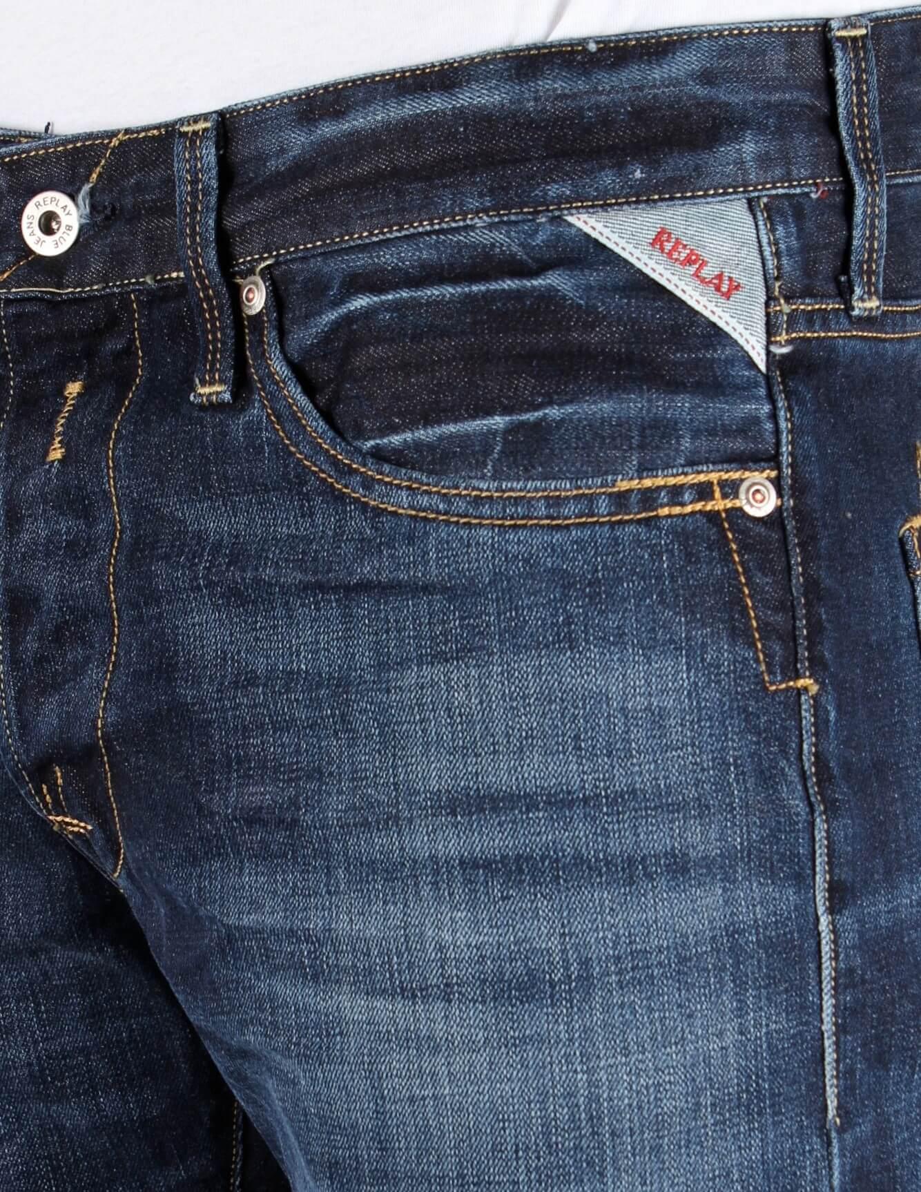 perticolare tasca jeans Replay