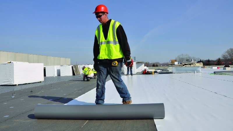 ThermaSeal Roofing Attica MI Conklin Commercial Roof Repair
