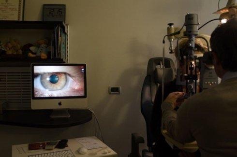 esame computerizzato della vista