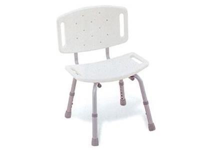 una sedia di color bianco