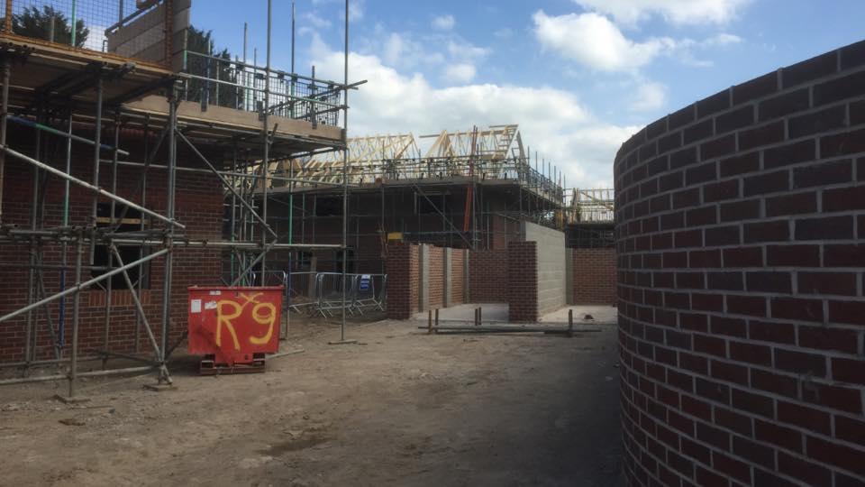 new build scaffold