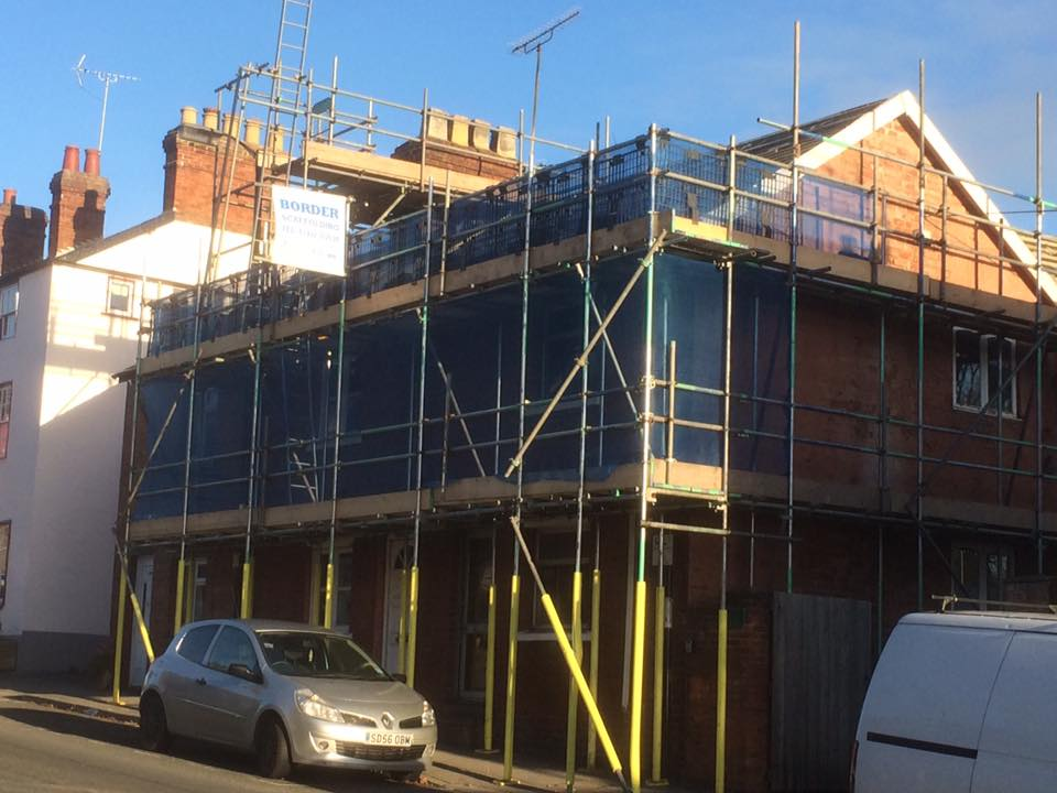 residential scaffold