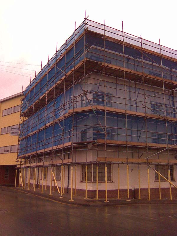 commercial building refurbishment