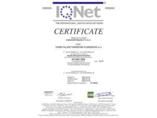 certificazione internazionale