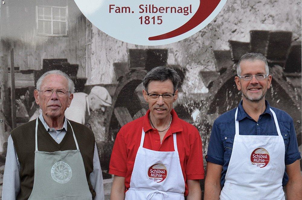 la famiglia  Silbernagl