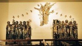 sculture sacre, sculture sacre in bronzo, fonderia ancona