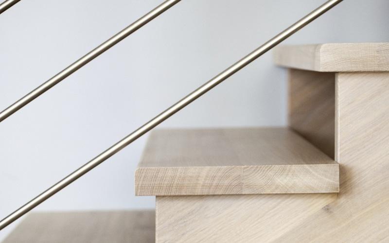 Balaustre per scale in acciaio