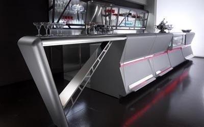 bancone per bar moderno