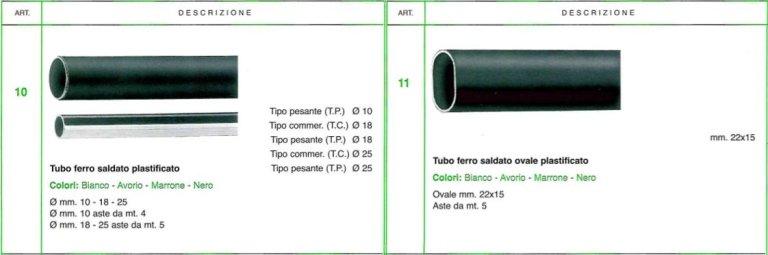 Tubi ferro