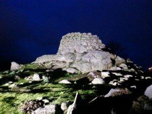 una fortezza in pietra