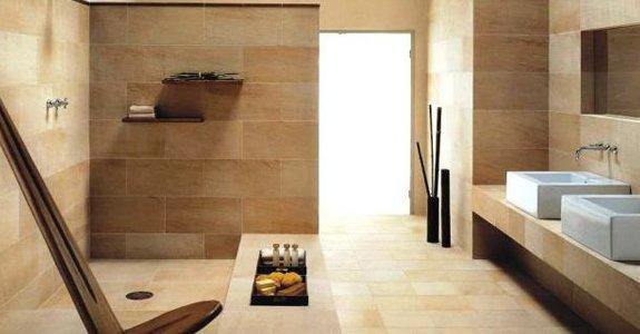hermann tiles brown shade tiled bathroom